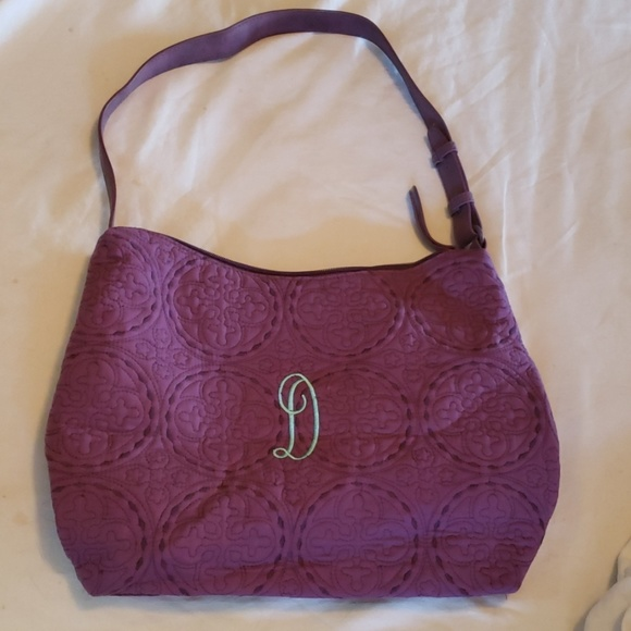 6901ccba802 👉CLEARANCE SALE👈 ~PURPLE PURSE WITH INITIAL